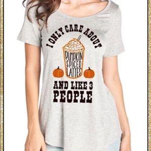 Tops - 'Pumpkin Spiced Lattes' Top